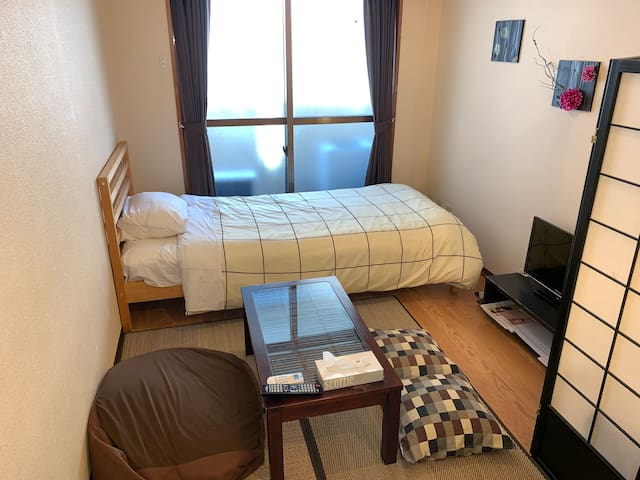 1stop from Shinjuku by train! HatsudaiComfy room!3