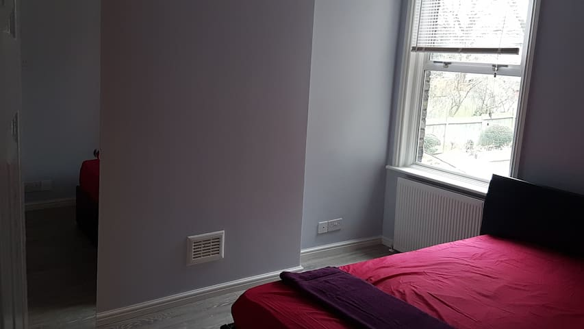 Lovely double bedroom in a clean and quite flat
