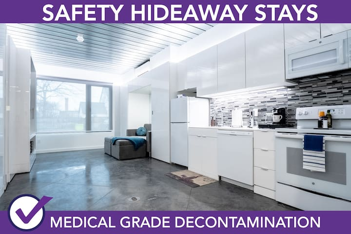 Safety Hideaway - Medical Grade Clean Home 119