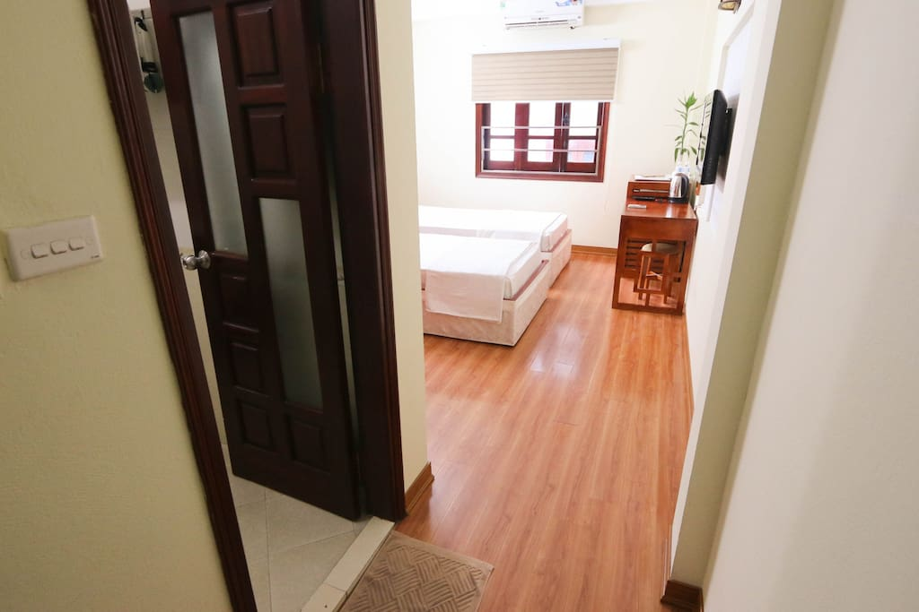 whole space is designed for your stay