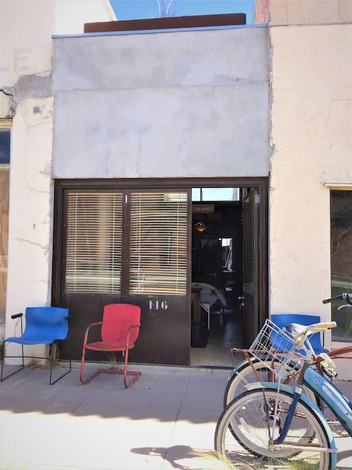 Old Charlie's Barber Shop- Front