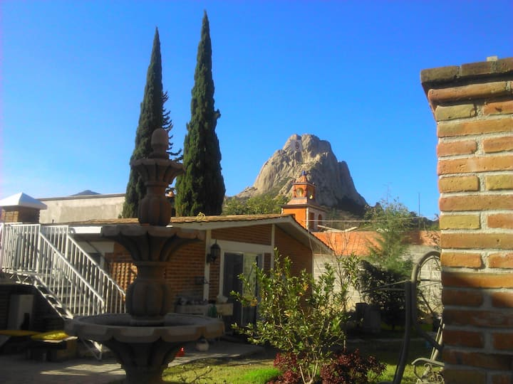 Habitación para 2 en Peña de Bernal (jal)