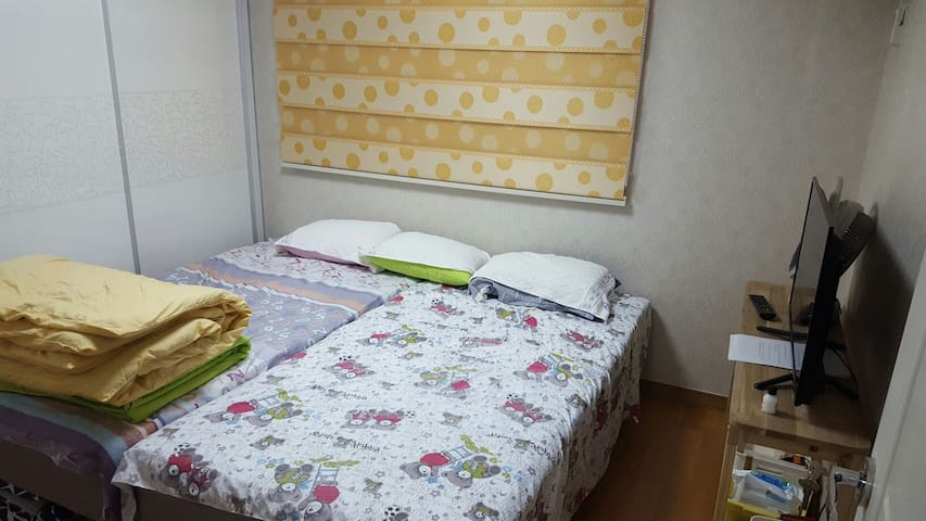 Dujeong Station(두정역)- UJINVIL House 305 - Seobuk-gu, Cheonan - Apartamento