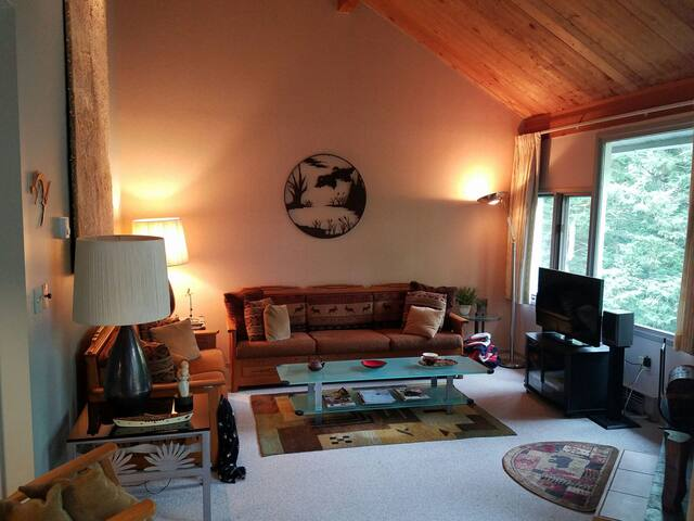 Cozy 2BR+ Loft in Mad River Valley, accommodates 6 - Warren - Appartement