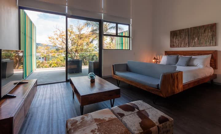 Apartamento tipo estudio en Santa Ana