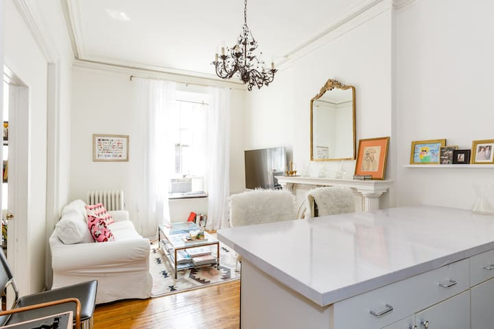 Gorgeous historic 5th Ave 1BR w/ high ceilings - New York - Apartmen