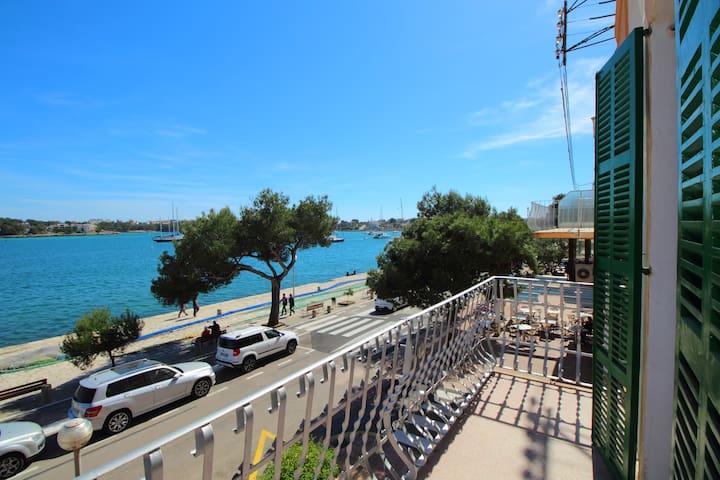 SEAFRONT APARTMENT PORTOCOLOM WIFI CLOSE TO BEACH - Portocolom - Apto. en complejo residencial