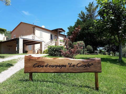 """Casa di campagna """"Le Coste"""" a Pianella (PE)"""
