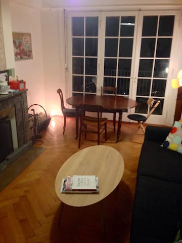 Charming 2bedrooms 75m central flat - Genève - Appartement