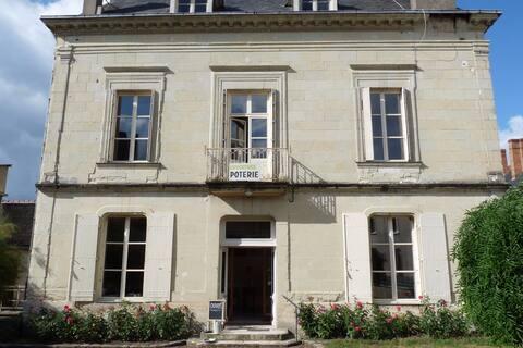 Le Gîte du Potier, château 50m Quartier Historique