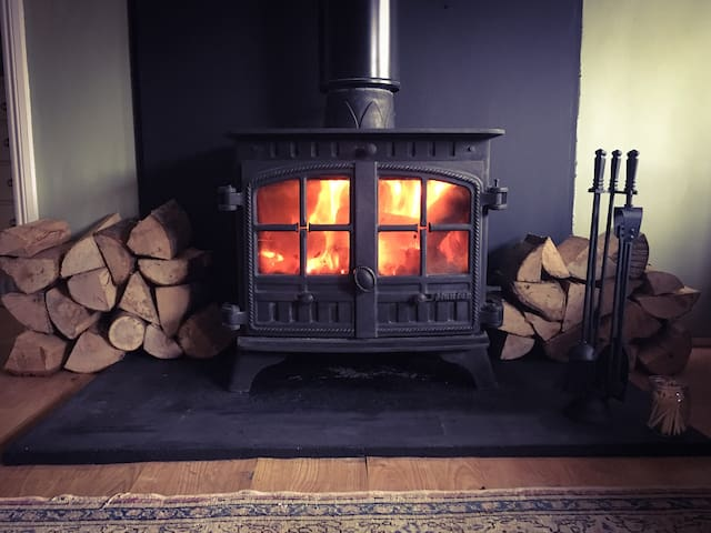 The 8kw Hunter Herald 8 keeps you toasty on cold nights.