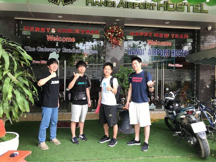 Noi Bai Garden Inn by Hanoi Airport Hostel