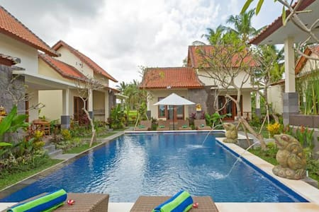 sisin ubud view bungalows the great place for stay - Ubud - Apartment