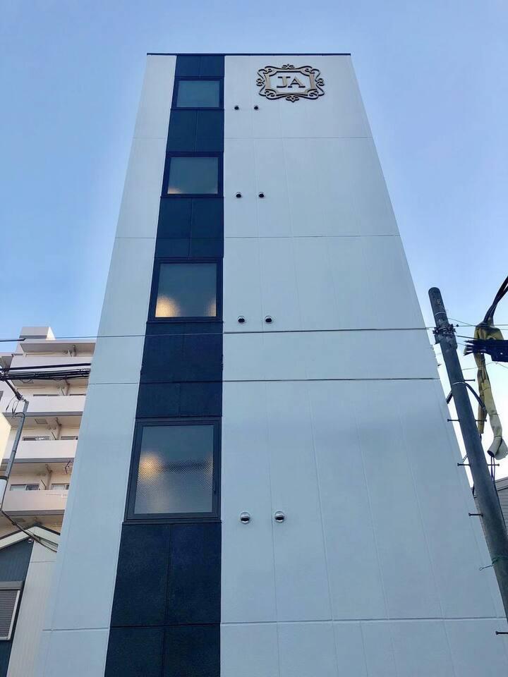 Ja hotel 新深江 无电梯5楼特价房