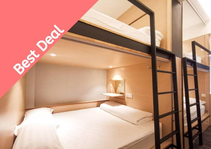 [NEW2] Single Bunk B&B @JB city center❣️ by ATTRUS
