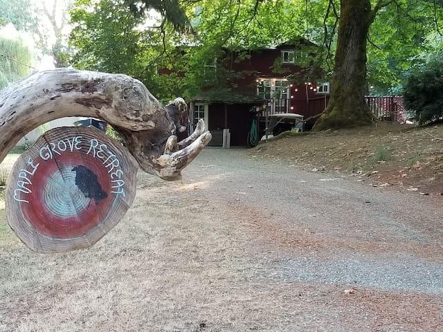 Herron Island Maple Grove Retreat-Dog Friendly