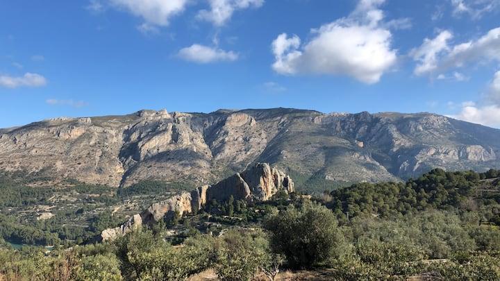 'Casa Rustica' met spectaculair uitzicht