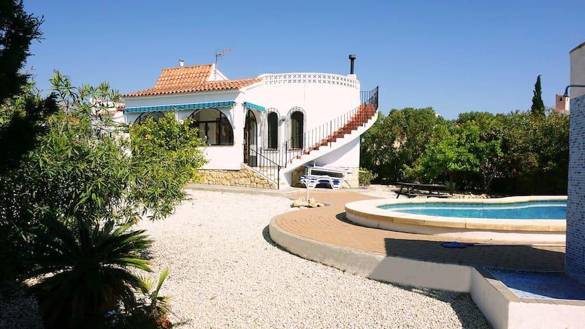 Family Holiday Villa, La Nucia near Benidorm - La Nucia - Villa