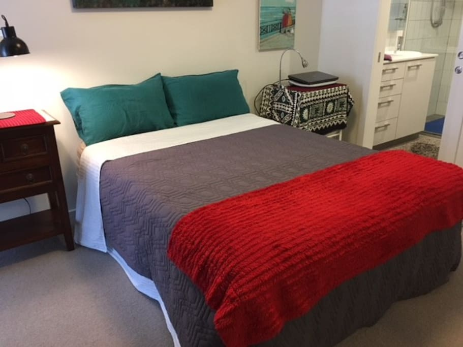 Double bedroom with en suite at right