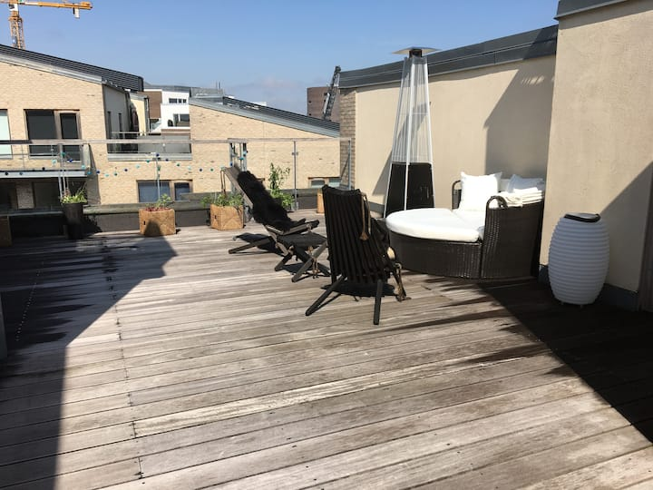 Unik penthouse lejlighed i centrum af København