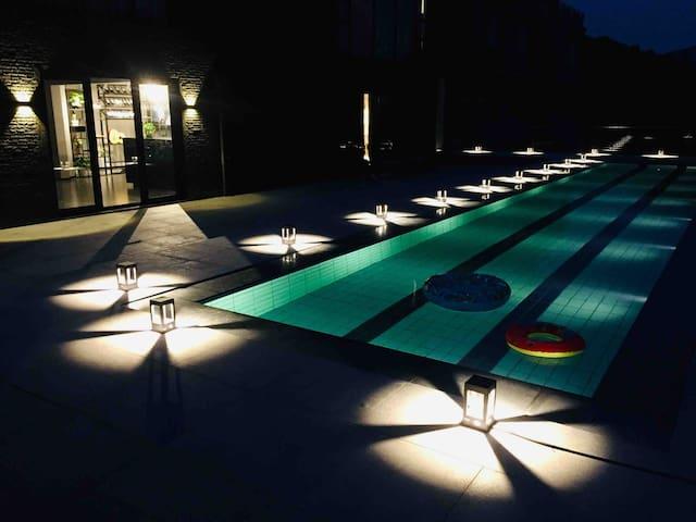 [美家 尧歌里] 近融创乐园三国城水浒城带泳池的山景房