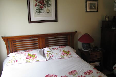 King bed with ensuite bathroom in Galway city - Galway - Casa adossada