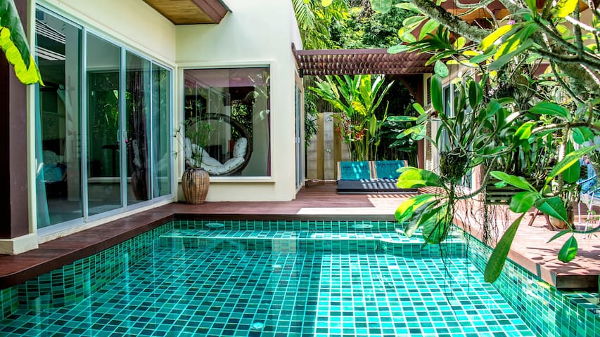 Exclusive villa balinaise Karon 4-6 pers. 2 plages
