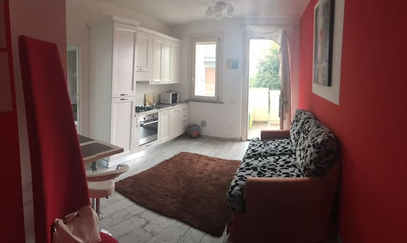 Trendy two-roomed apartment (app. 8)