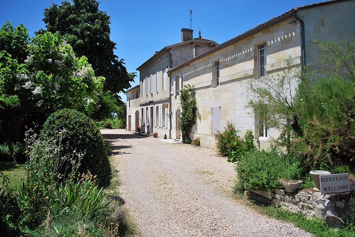 Maison de charme au cœur des vignes