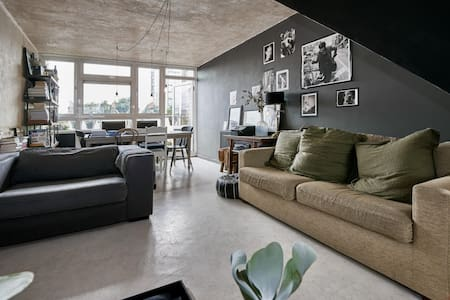 Hip pied-à-terre with 2 double beds - Londres - Apartamento