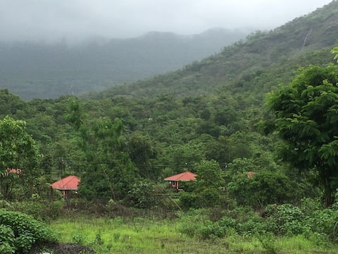 Stay at Gold Valley Konkan Tamhini Rafting/Devkund