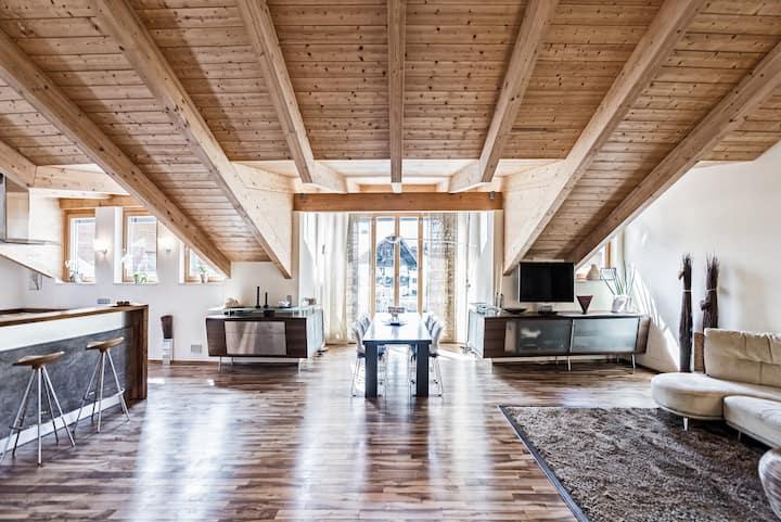 Luxus-Penthouse mit Blick aufs Kitzsteinhorn