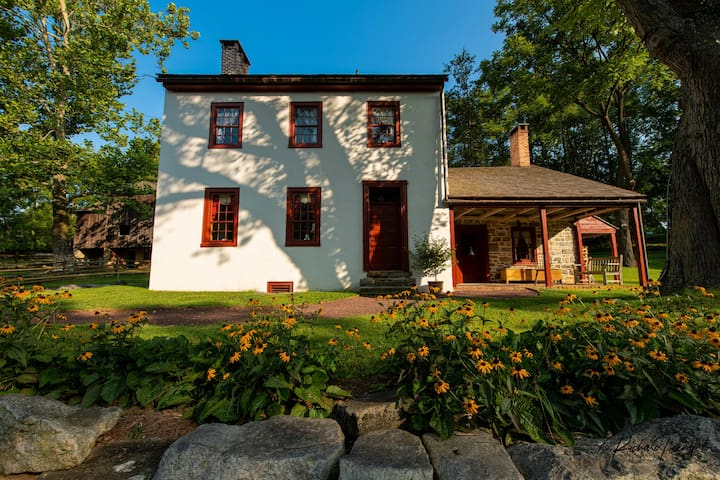 Apgar Stone House-Colonial Charm in Finesville NJ