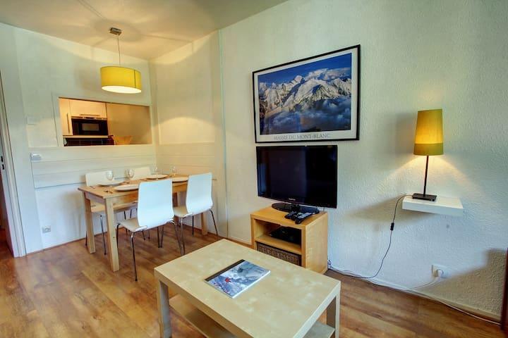 Comfortable central Chamonix apartment Chamois F