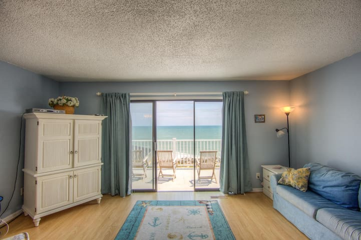 2bd 2ba top floor large balcony view of ocean/pier - Carolina Beach - Appartamento