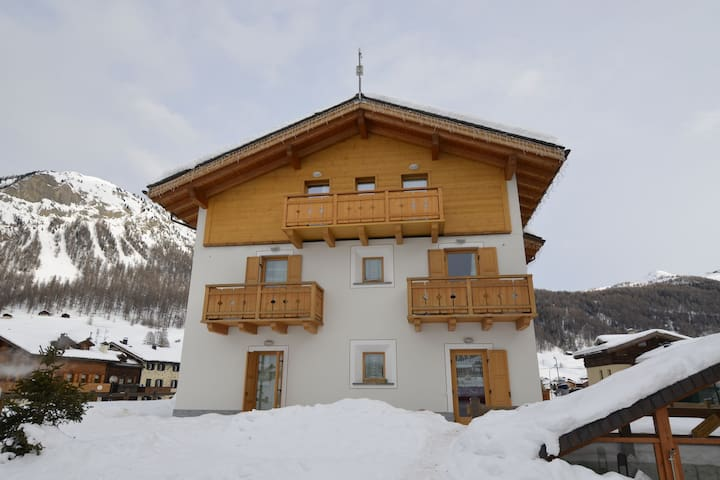 Scenic Holiday Home in Livigno near Ski Lift