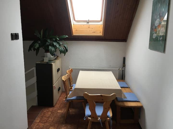 Velence apartman - privát szoba