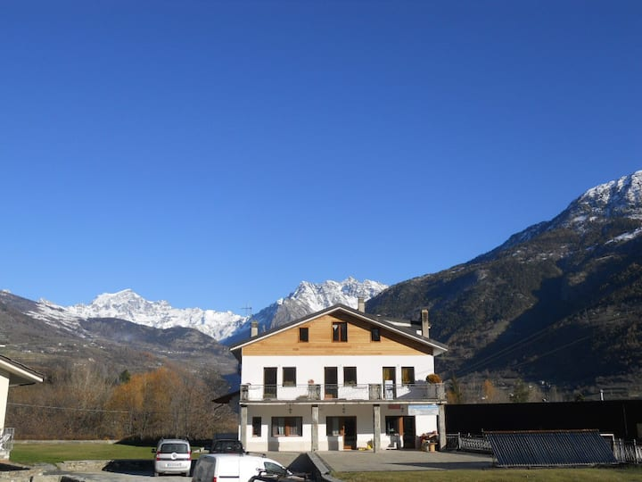 Mansarda a 6 km da Aosta