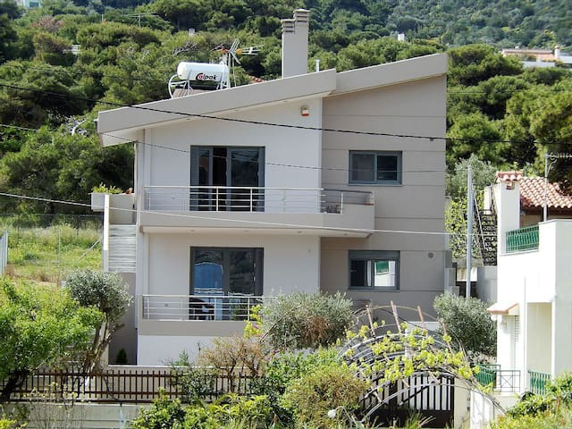 Villa-SEA VIEW- 2nd floor apartment - Porto Rafti - Apartment