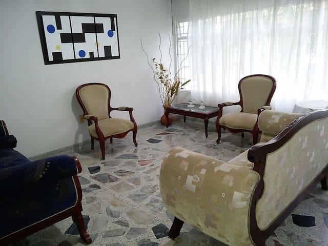 Sala de estar.