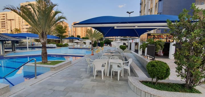 Apt. Eldorado Thermas Park - 5 pessoas- 8 piscinas