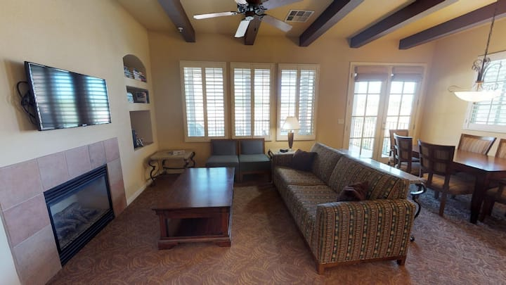 (LV204) Upstairs Two Bedroom Villa with a Private Balcony