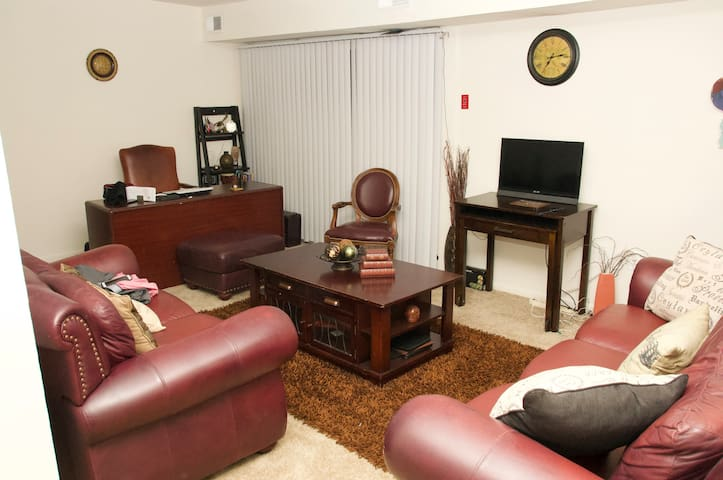 Living Room with Office space