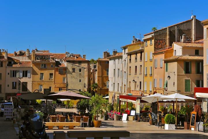 appartement  proche mairie d' aix en provence - Aix-en-Provence - Apartment