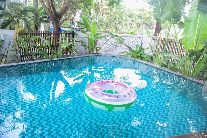 GEM VILLA 71, 7BRS,Big Pool in Phú Mỹ Hưng Dist.7