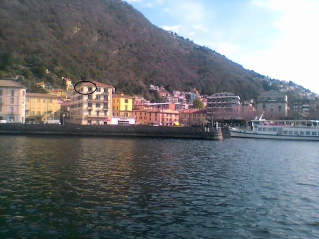 friendly flat in Como city overlooking the lake - Como - Daire