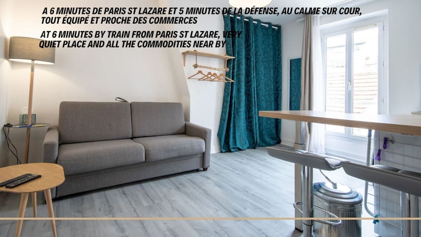 Beautiful Flat at 6 minutes from PARIS City Center