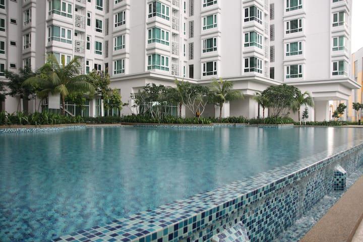 #5 Kuala Lumpur 2 Bedroom Apartment - Kuala Lumpur - Departamento