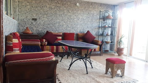Beautiful  Apartment with Terrace  in El Jadida
