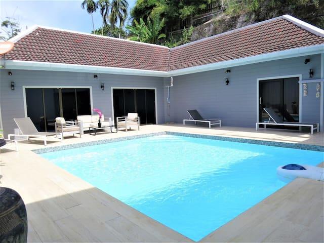 Villa  patong 3 bedroom, pool, jacuzzi
